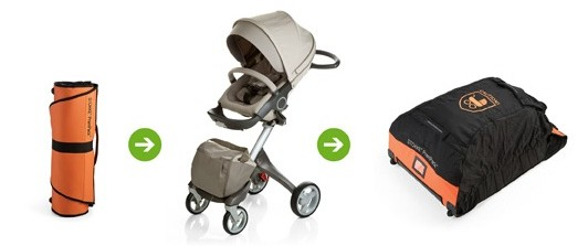 Mummy Alarm review Stokke PramPack universal travel bag for prams