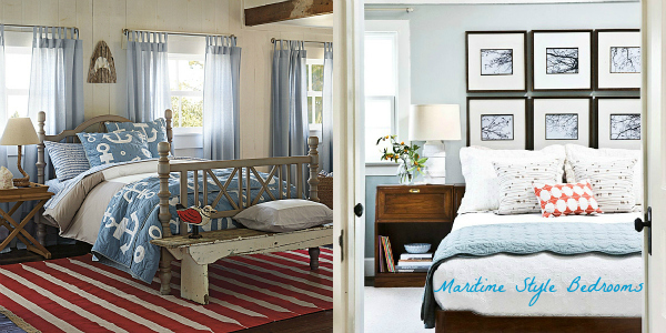 maritime style bedroom