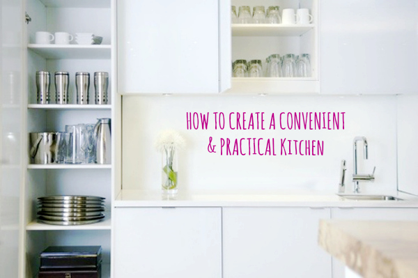 How to create a convenient and practical kitchen kitchen appliances instant hot water tap declutter kitchen