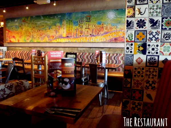 chiquito cribbs causeway bristol review restaurant test inside of the restaurant