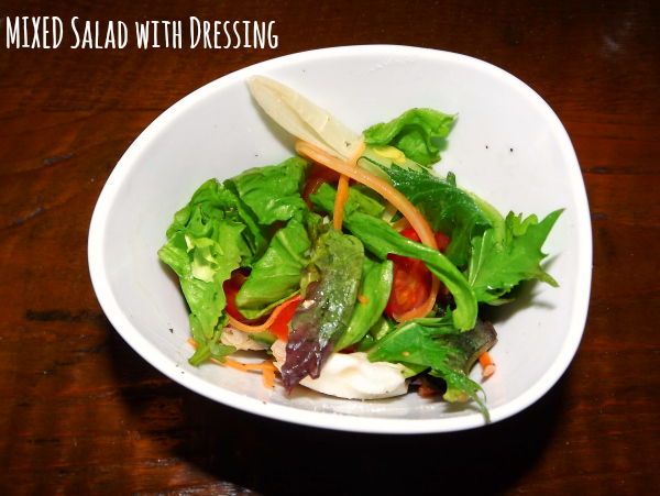 hiquito cribbs causeways bristol mexican restaurant review starters mixed salad with dressing