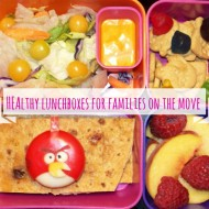 Healthy lunchboxes for families on the move
