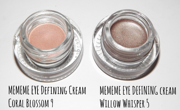 mememe rich colour eye defining cream coral blossom 9 mememe eye defining cream willow whisper 5