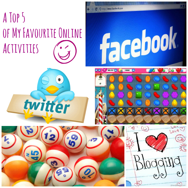 A Top5 of my online activities