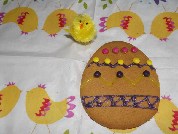 My nearly decorated Easter eggs
