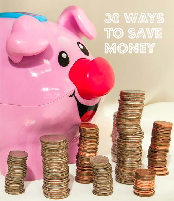 30 ways to save money