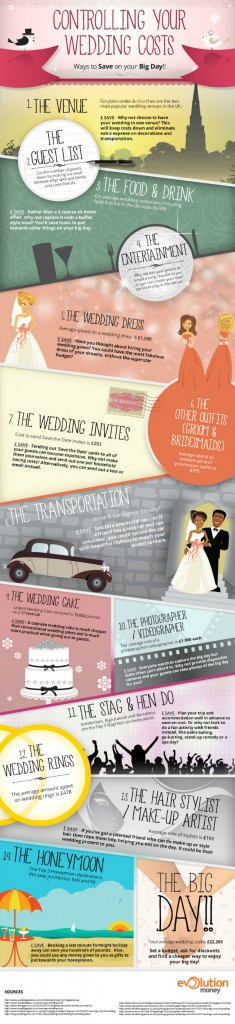 Wedding infographic, How much money do people spend on their wedding wedding budget, wedding on a budget