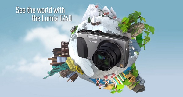 Get snap happy and win a Panasonic TZ 40