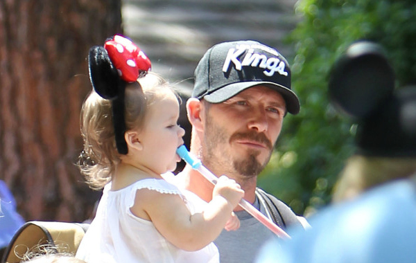 david beckham disney world celebrities in florida
