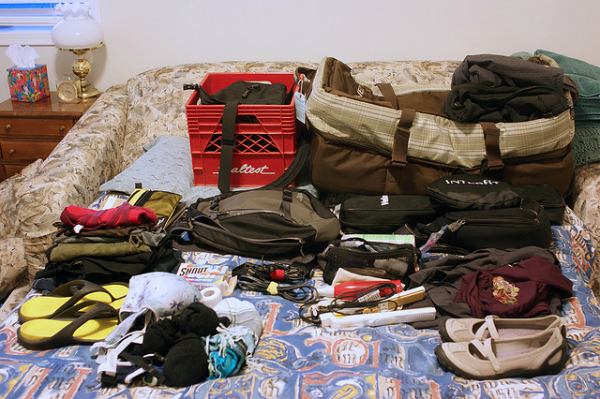 packing for summer camp