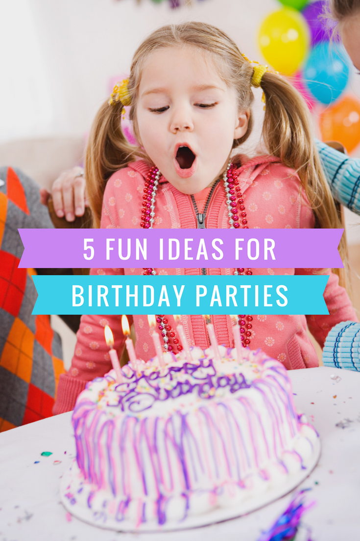 5 ideas for kids parties - party mottos and party ideas for kids