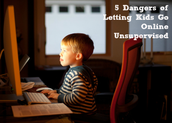 5 Dangers of letting kids go online unsupervised