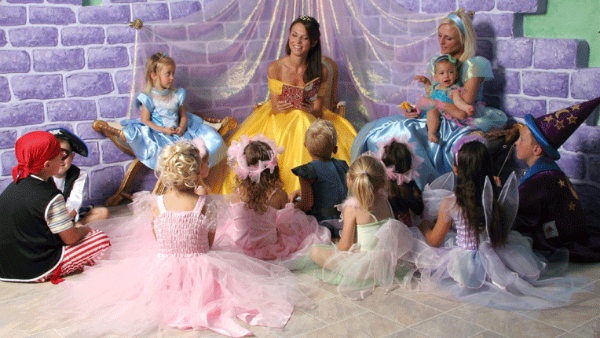 Princess-party-ideas for kids parties
