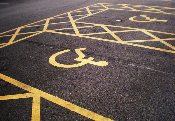 Disabled Parking Spaces by Steve P J