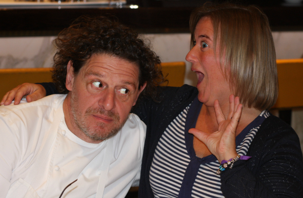 Marco Pierre White and Helen