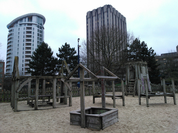Bristol Culture blog Castle Park playground
