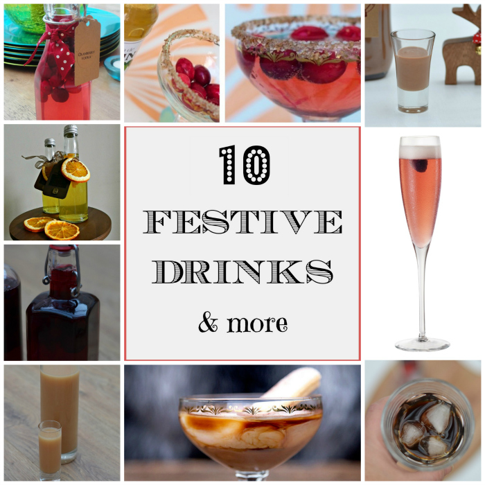 10 festive drinks badge