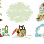 Gift ideas for toddlers – wooden toys