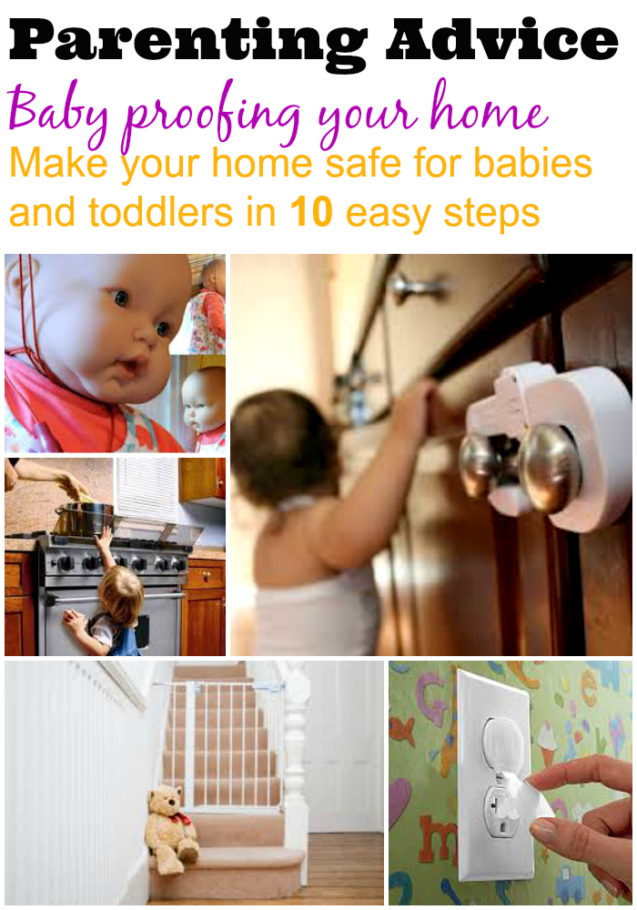 baby proofing your home, make your home safe for a baby, make your home safe for a toddler