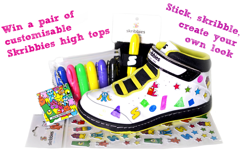 SKRIBBIES Customisable High-Tops - design your own high tops