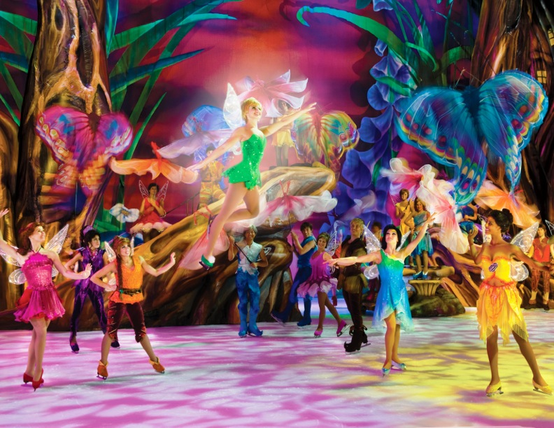 Disney on Ice Worlds of Fantasy Cardiff 2014