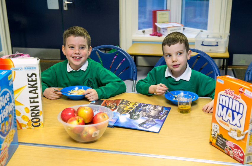 kellogs cereals support breakfast clubs all around the country