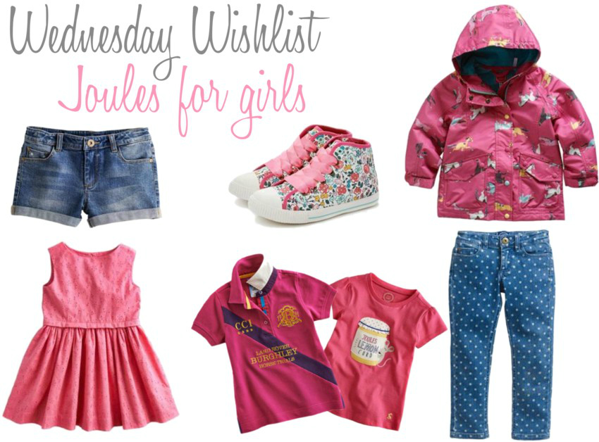 Wednesday Wishlist Joules for girls