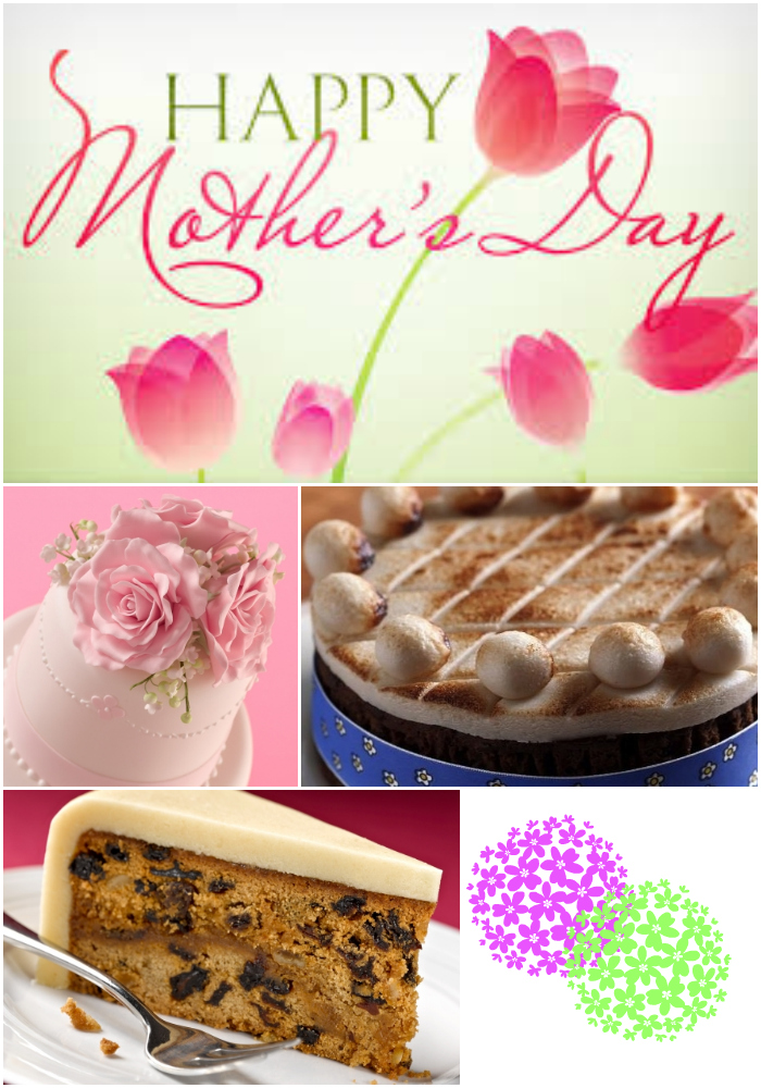 marzipan cakes for mother's day