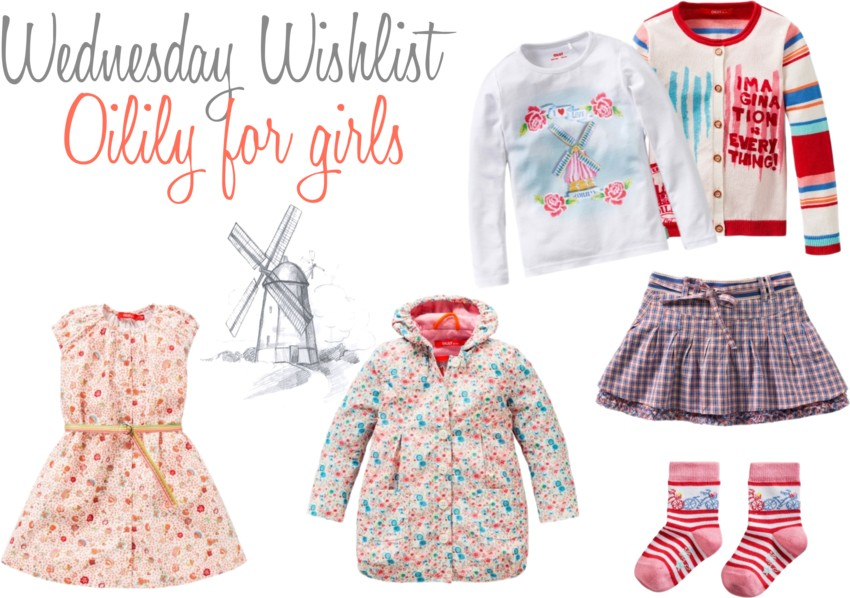 wednesday wishlist oilily for girls
