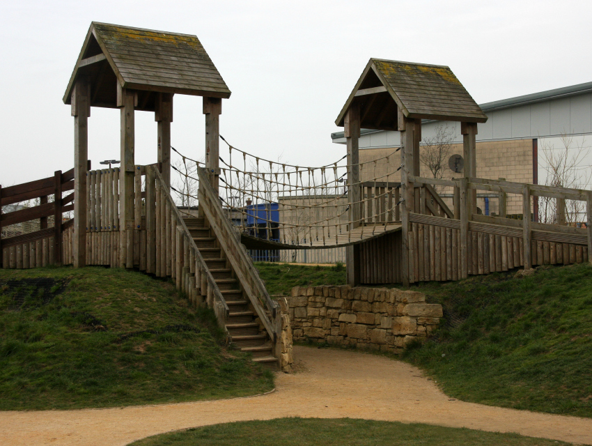 Hengrove Park wooden fortress