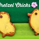 Pretzel Chicks – A quick and easy Easter treat