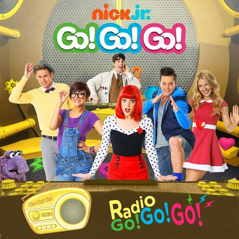 Radio go go go by go go go from nick junior nick jr