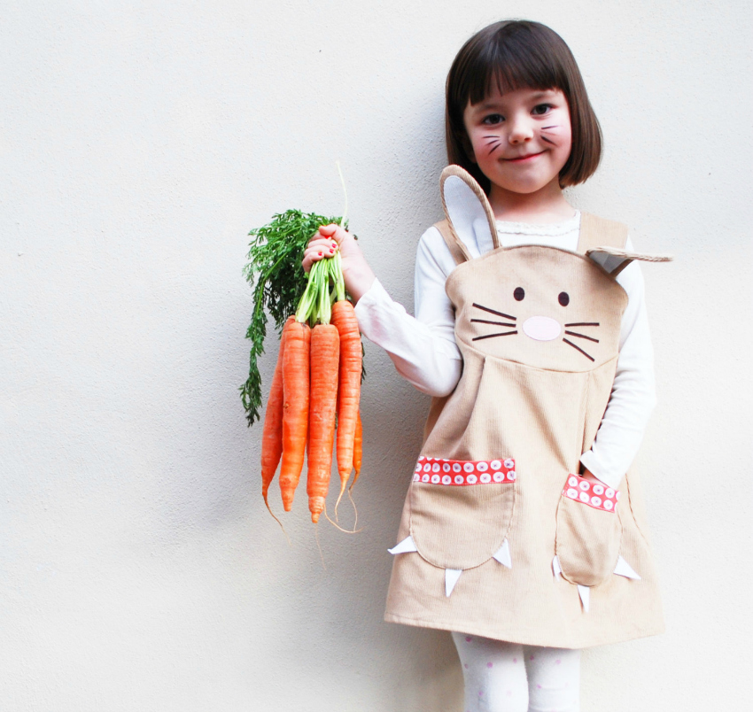 Wild things easter bunny dress