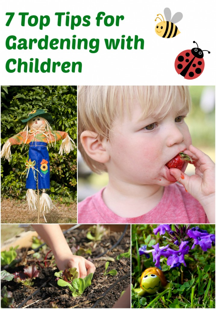 7 Top Tips for Gardening with Children