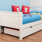 Win a white Stompa single bed for kids