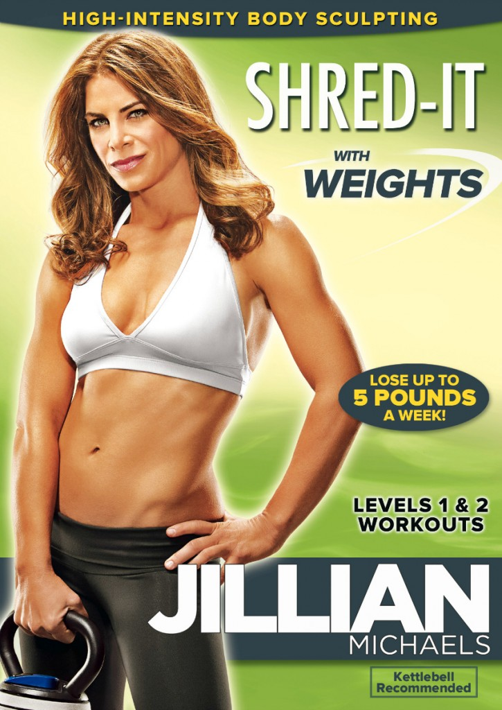 Jilian Michaels 30 shred was yesterday. This year, Jilian Michaels has brought out her new high-intensity body sculpting workout shred-it with weights