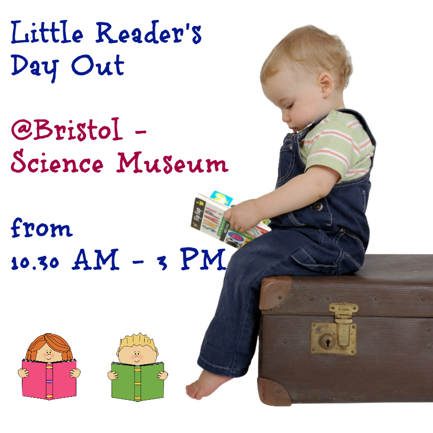 Little Reader's Day Out at @Bristol reading with children