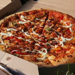 Our World Cup Pizza Picnic with Dominos