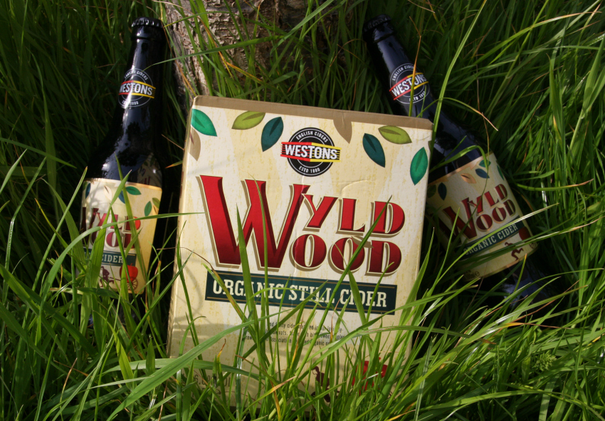 Wyld wood organic cider and wyld wood organic still cider
