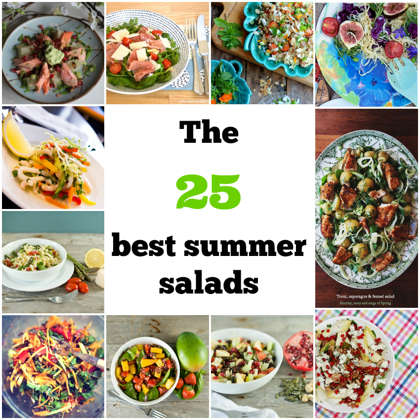 the 25 best summer salads, summer salads, salad recipes for summer