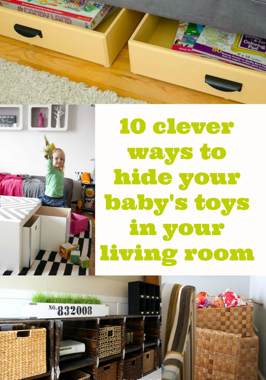 10 ways to hide toys in your living room mummy alarm for Living room toy storage