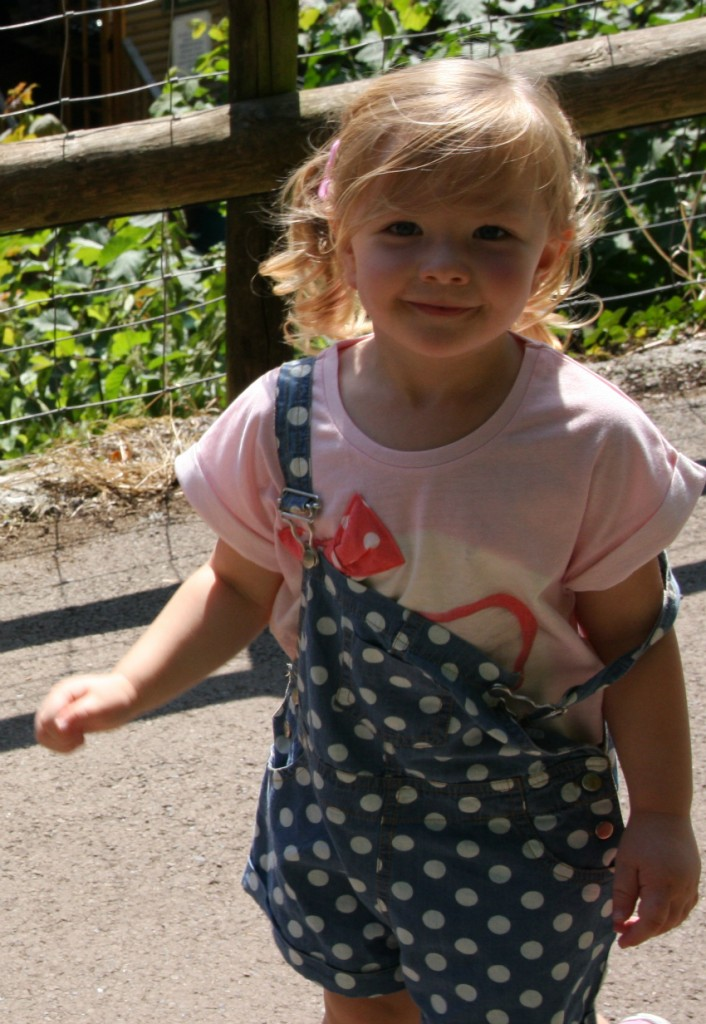 Amy at Wookey Hole