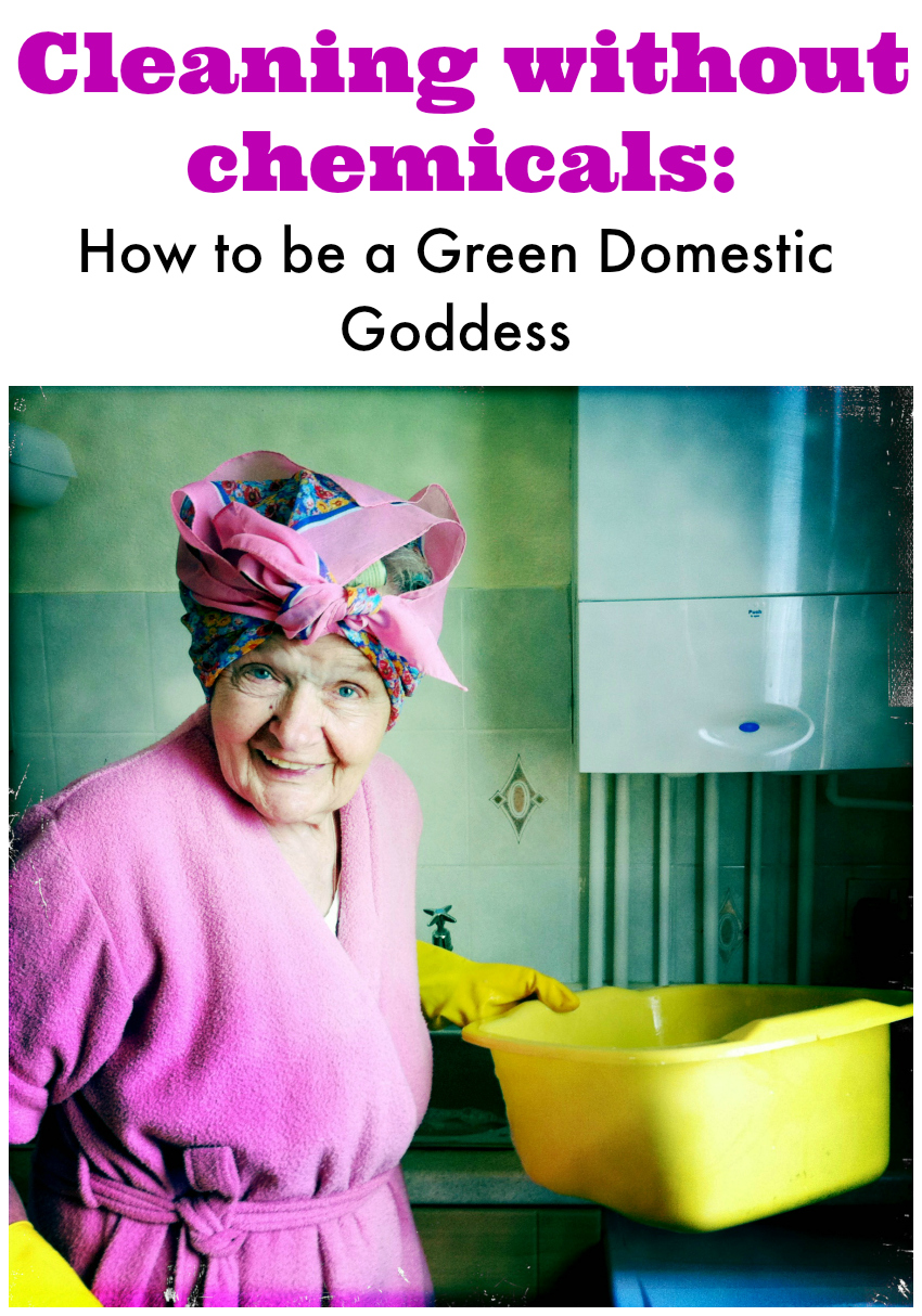 Cleaning Without Chemicals How to be a Green Domestic Goddess
