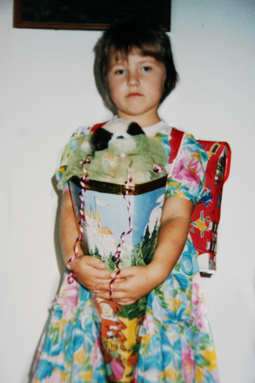 My first day at school - my Schultuete