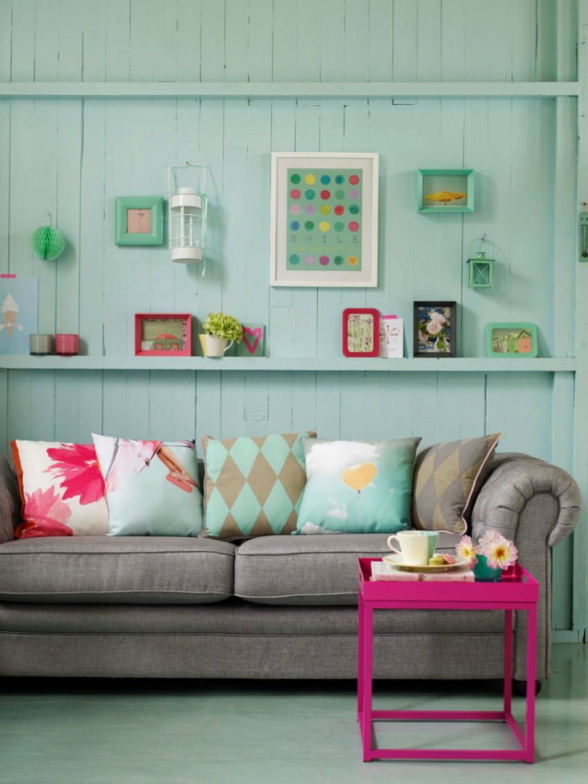 Tesco Sherbet Crush interior design range