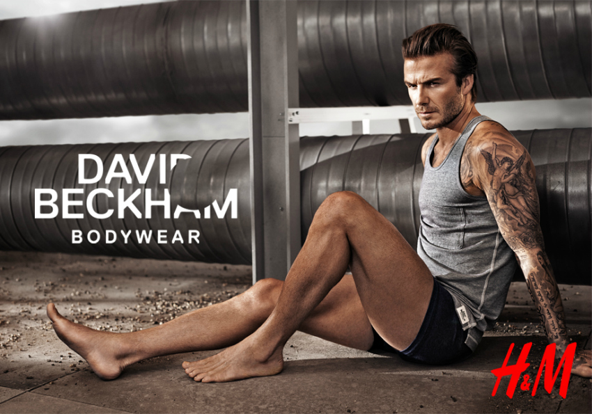 about me david beckham for h&M