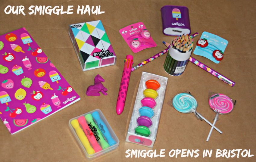 Australian Stationery shop smiggle opens in Bristol Cabot Circus