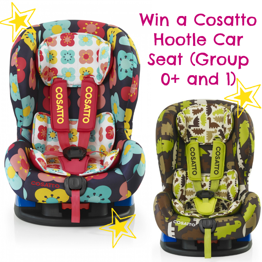 Cosatto Hootle Car Seat Group 0+ and group 1, car seat that can be used front-facing and rear-facing
