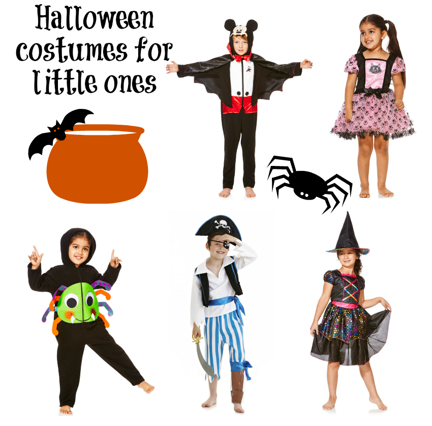 Halloween costumes for little ones