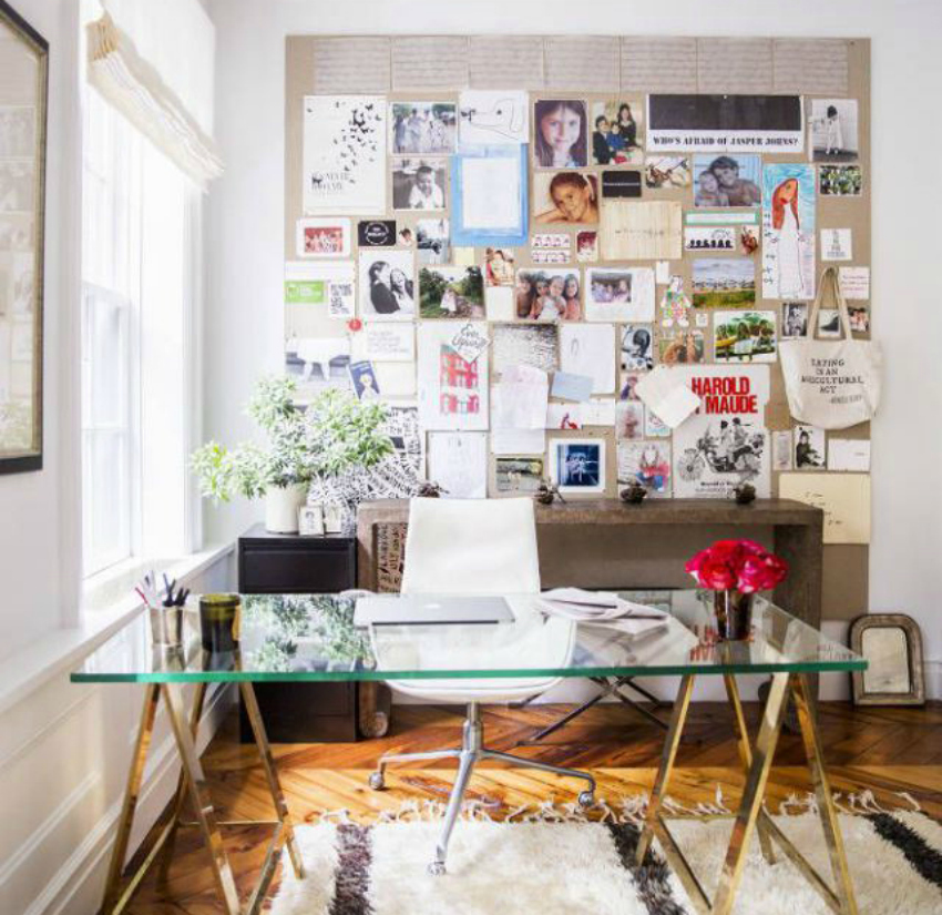 how to create a vision board and stick to your new year's resolutions